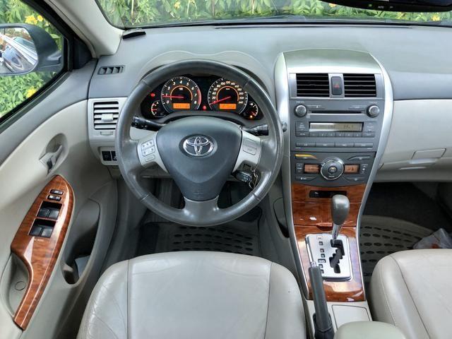 Toyota Corolla SEG BLINDADO 2009 EXTRA!!! - Foto 8