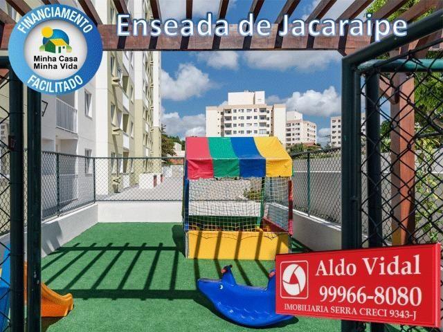ARV34- Apê Novo em Jacaraipe, 2 quartos com suíte e varanda - Foto 15