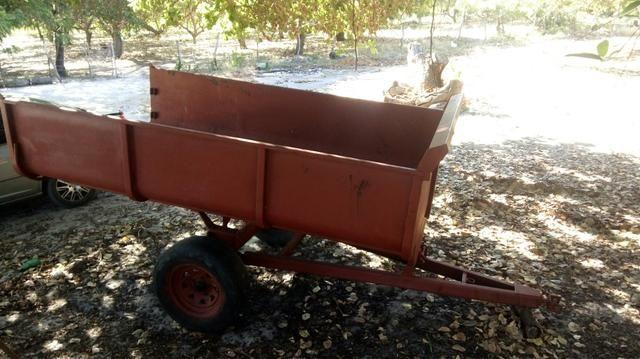 Vendo carroça casambão, p trabalho pesado - Foto 4