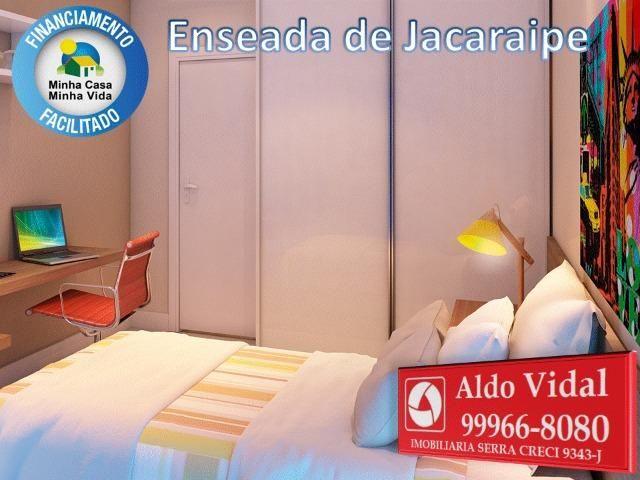 ARV34- Apê Novo em Jacaraipe, 2 quartos com suíte e varanda - Foto 9