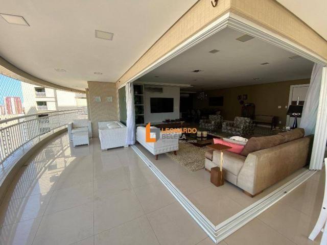 Apartamento Alto Padrão, Luxo à venda, 350 m² por R$ 3.990.000,00 - Meireles - Fortaleza/C - Foto 4