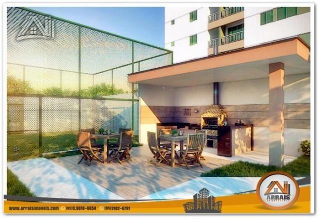 Apartamento com 2 Quartos mais Suite Master à venda no Bairro Benfica - AQUARELA CONDOMÍNI - Foto 2