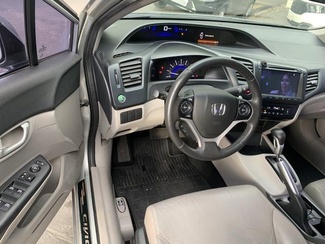 Honda civic 2014/2015 LXR 2.0 AUTOMATICO - Foto 9