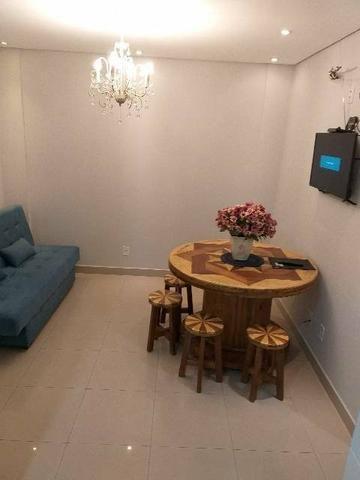 Apartamentos mobiliados NOVO bem localizado no Centro e no Santa Marta - Foto 2