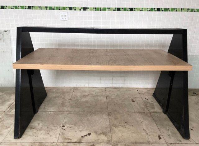 Mesa Restaurante para 6 a 8 pessoas (tenho as banquetas anunciada) - Foto 2