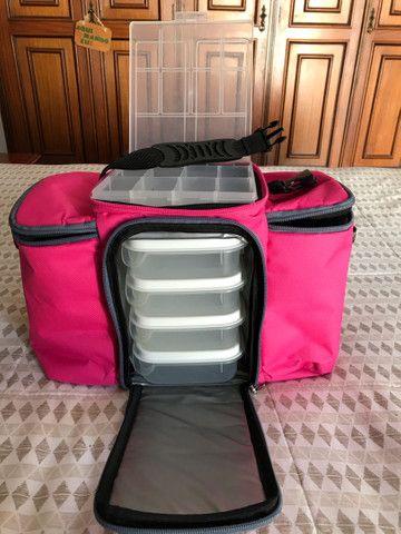 Bolsa Térmica Keeppack MAX Rosa 4 Refeições - Foto 2