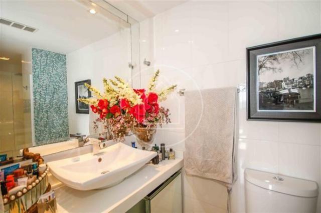 Apartamento à venda com 3 dormitórios em Barra da tijuca, Rio de janeiro cod:828684 - Foto 14