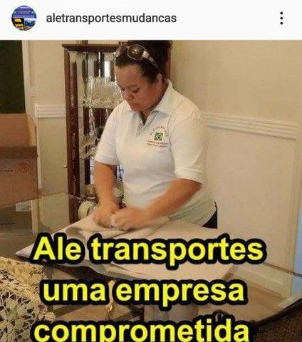 Ale transportes mudanças para todo Brasil - Foto 3