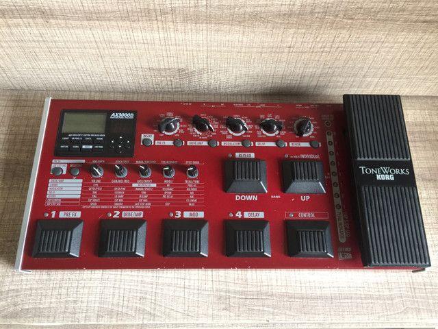 Pedaleira Korg Ax3000B (Bass)