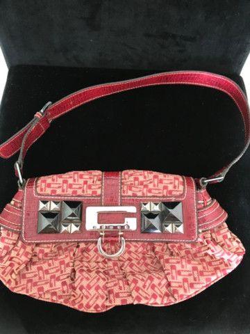 Vendo bolsa Guess vermelha original