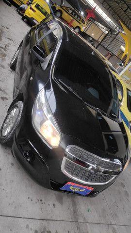 Spin lt 1.8 ex taxi, completa+gnv+ lindo + aprovação imediata, s/compr renda - Foto 7