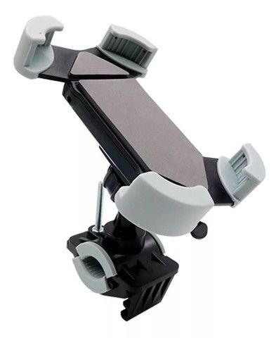 Suporte de Celular SmartPhone Gps Para Moto e Bicicleta Exbom SP-C86 - Foto 4