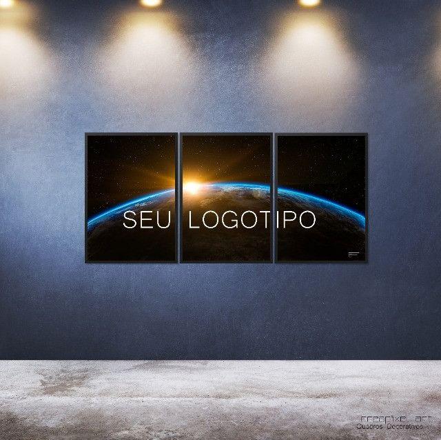 Seu logotipo em quadro decorativo - Foto 6