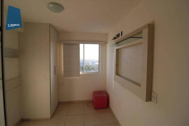 Apartamento com 3 dormitórios à venda, 60 m² por R$ 440.000,00 - Fátima - Fortaleza/CE - Foto 3