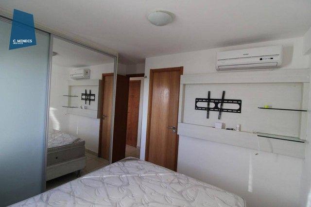 Apartamento com 3 dormitórios à venda, 60 m² por R$ 440.000,00 - Fátima - Fortaleza/CE - Foto 2
