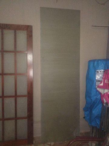 Porta de vidro temperado de corre novo