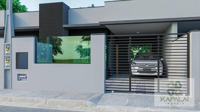 Casa com 2 dormitórios à venda, 76 m² por R$ 225.000,00 - Itacolomi - Balneário Piçarras/S - Foto 2