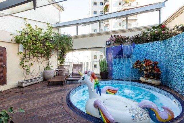 Cobertura Duplex para aluguel no Jardins, 4 dormitorios e 5 vagas - Foto 8