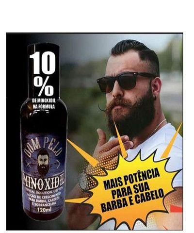 Tônico Capilar Dom Pelo Cresce Barba 120ml Capilar Forte - Foto 5
