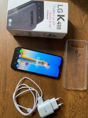 Smartphone LG K41S Preto 32GB, RAM de 3GB, Câmera Quádrupla e Processador Octa-Core 2.0 - Foto 6