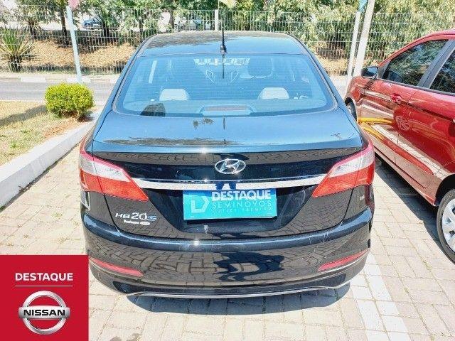Hyundai HB20S 1.0 Manual 2018 Preto - Foto 4