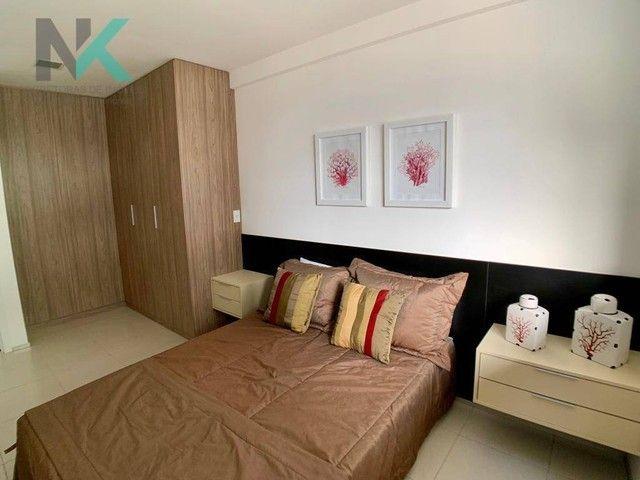 Apartamento com 3 dormitórios à venda, 114 m² por R$ 811.023,29 - Guaxuma - Maceió/AL - Foto 13