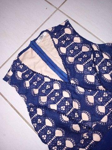 Vestido azul marinho - Foto 5