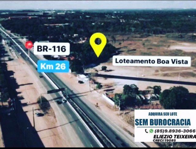 Loteamento as margens da BR-116, 10 minutos de Fortaleza! - Foto 17