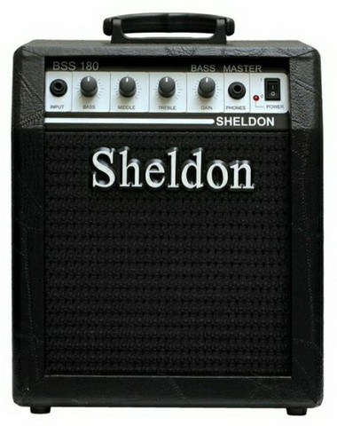 Cubo para Baixo Sheldon