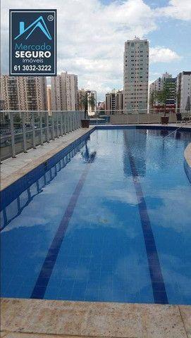 Apartamento com 1 dormitório para alugar, 42 m² por R$ 1.150,00/mês - Sul - Águas Claras/D