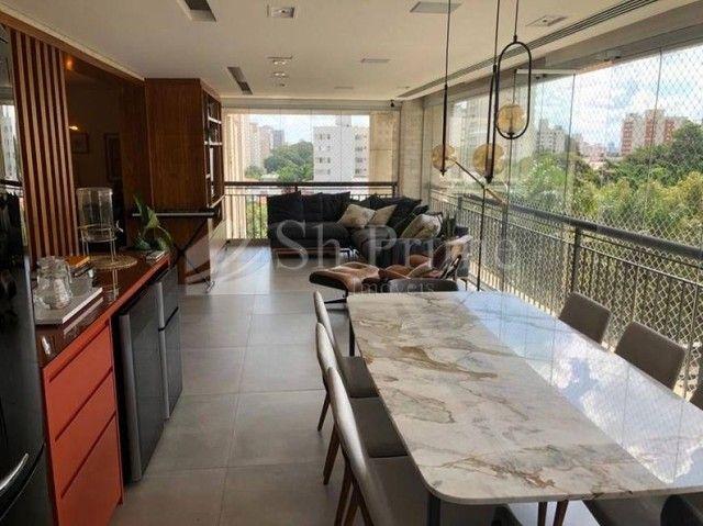 Apartamento para alugar no condomínio Splendor Ibirapuera, 222 m² por R$ 20.000/mês - Vila - Foto 9