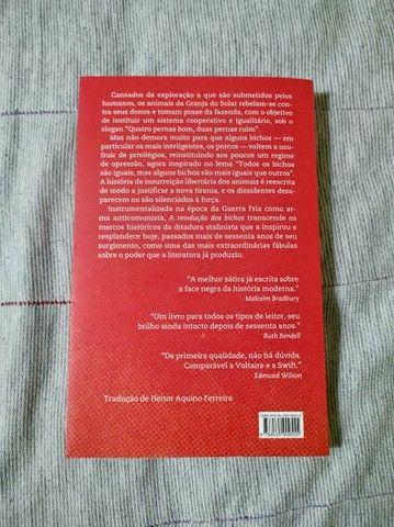 Livro a revolução dos Bichos - Foto 2