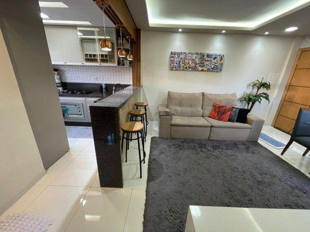 Lindo Apartamento Residencial Tulipas Todo Reformado e Mobiliado - Foto 3