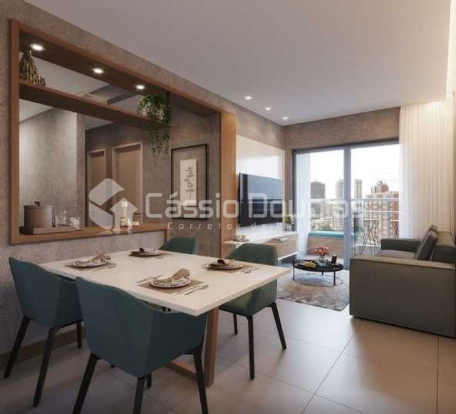 Apartamento 2 quartos em Manaíra em construção - área de lazer club - Foto 12