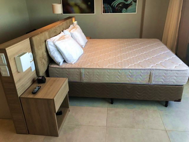 Alugo apartamento por diária todo mobiliado em Barra de Jangada - 37m² - Foto 5