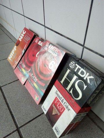 Fitas de vídeo VHS lacradas - Foto 2
