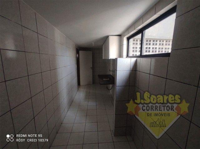 Manaíra, 3 suítes, 85m², R$ 1.900 C/Cond, Aluguel, Apartamento, João Pessoa - Foto 13