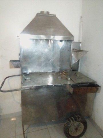 Troco carrinho de churrasco com compartimento de refrigerante.por computador completo - Foto 3