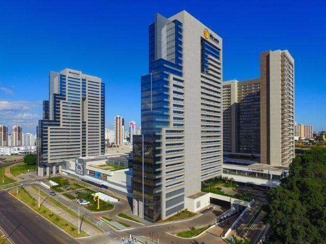 DF Century Plaza Apartamento em Águas Claras 1 quarto Lazer completo