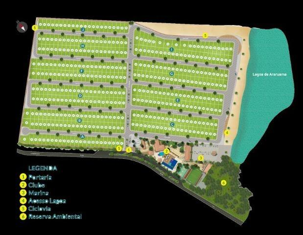 Blue lake lugar de ser feliz Arraial do cabo-condominio de lotes infraestrutura de clube - Foto 16