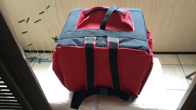 Bag para pizza, quentinha, lanches em geral - Modelo novo Preço Promocional - Foto 3