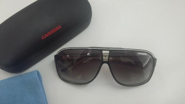 8c505f457 Óculos de Sol Carrera Grand Prix 2 Preto/Branco - Original - Em perfeito  estado