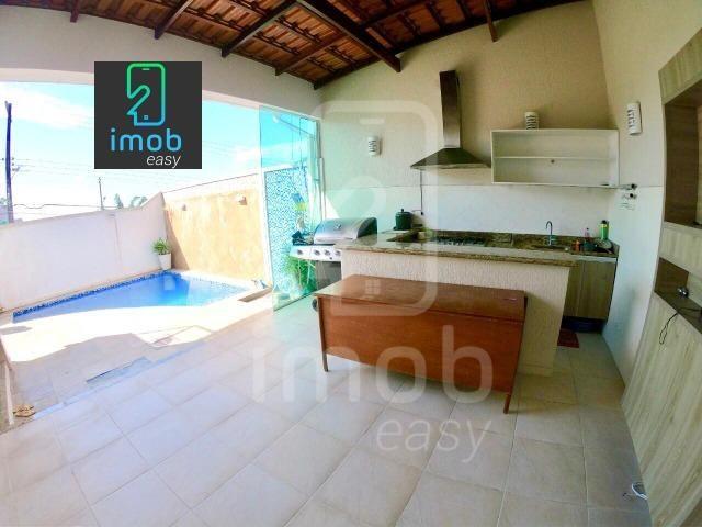Residencial Tapajós linda casa com 3 suítes piscina e edícula (aceita financiar) - Foto 12