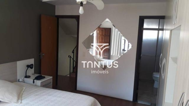 Sobrado com 3 dormitórios à venda, 115 m² por r$ 615.000 - santa cândida - curitiba/pr - Foto 15