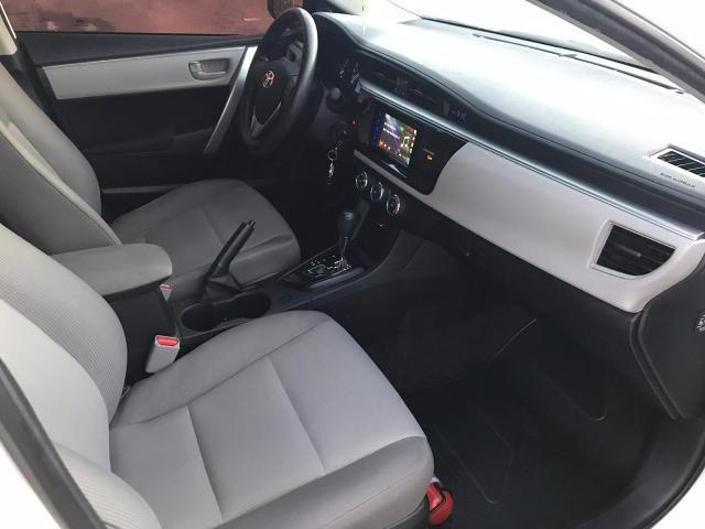 Toyota corolla gli 1.8 automático cvt flex 2015/2016 - jpcar - Foto 9