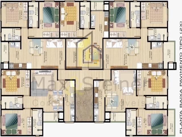 Ingleses& M.E.G.A P.R.O.M.O.Ç.ÃO! Lindo Apartamento Garden, 02 dormitórios (01 suíte) - Foto 19