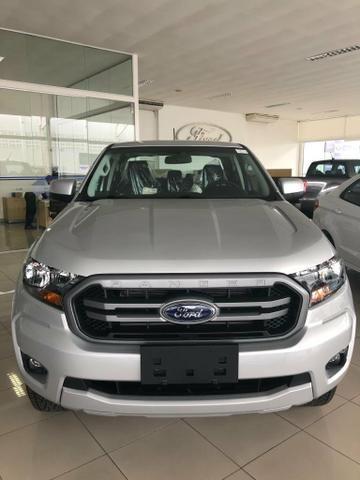 Ford Ranger XLS Cab. Dupla 2.2 Diesel 4x4 Automático 2019/ 2020 - Foto 2