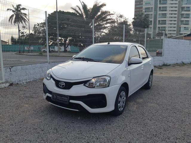 Etios Sedan X 1.5 Flex, completo, mecânico, cor branco - Foto 4