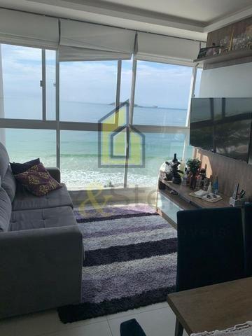 Ms5 Excelente Apartamento 2 dorm mobiliado frente mar!!