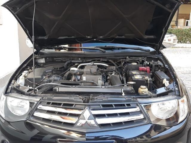 L 200, 4x4 preta, GLS à diesel, muito conservada, pneus em ótimo estado - Foto 2
